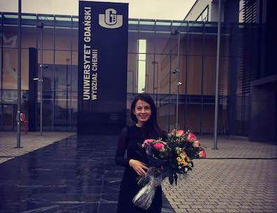 Congratulations to dr Alicja Mikołajczyk